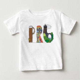 Camiseta Para Bebê O T   PRAGA do bebê, CZ (PRG)