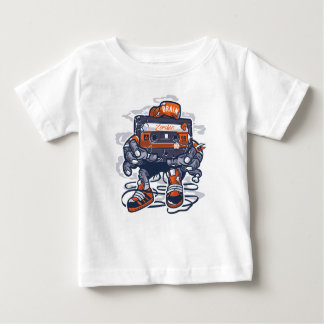 Camiseta Para Bebê O t-shirt do bebê da gaveta do zombi