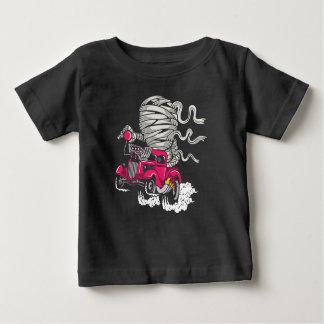 Camiseta Para Bebê O t-shirt do bebê da raça da mamã