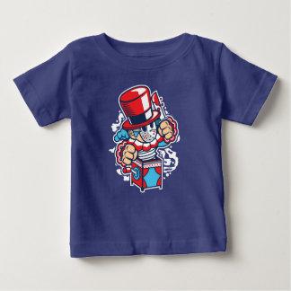 Camiseta Para Bebê O t-shirt do bebê da surpresa