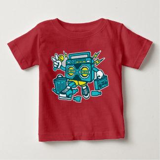 Camiseta Para Bebê O t-shirt do bebê de BoomBox