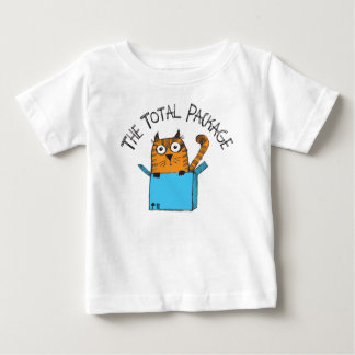 Camiseta Para Bebê O t-shirt total do bebê do pacote