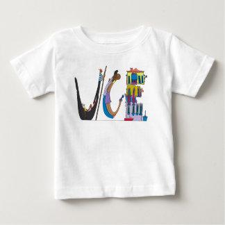 Camiseta Para Bebê O T | VENEZA do bebê, ELE (VCE)