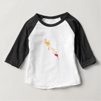 Camiseta Para Bebê O TATUAGEM VERMELHO do OURO LUXUOSO Ornaments