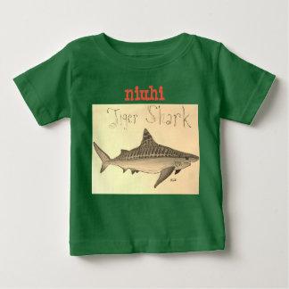 Camiseta Para Bebê O tubarão de tigre de Niuhi caçoa o t-shirt