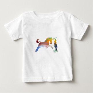 Camiseta Para Bebê O unicórnio