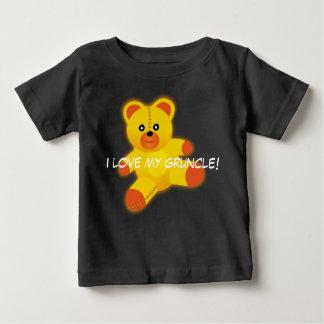 """Camiseta Para Bebê O urso de ursinho diz, """"eu amo meu Gruncle """""""
