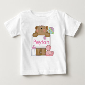 Camiseta Para Bebê O urso doce de Peyton