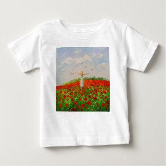Camiseta Para Bebê O vôo da alma