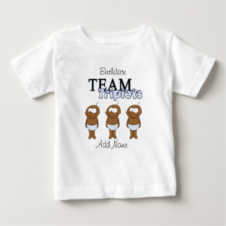 Camiseta Para Bebê Objectivas triplas