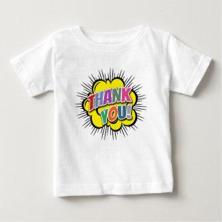 Camiseta Para Bebê Obrigado