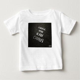 Camiseta Para Bebê Obrigado JESUS 2