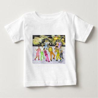 Camiseta Para Bebê Obtenha para baixo!