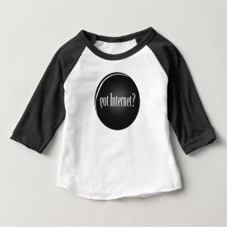 """Camiseta Para Bebê """"Obteve o Internet"""", Internet, Internet obtido"""