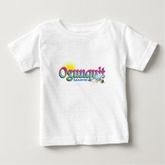 Camiseta Para Bebê Ogunquit Maine