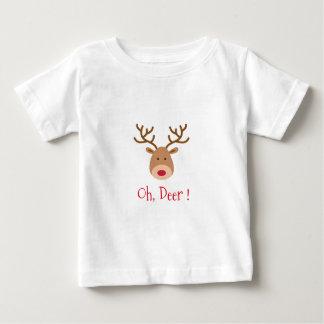 Camiseta Para Bebê oh cervos
