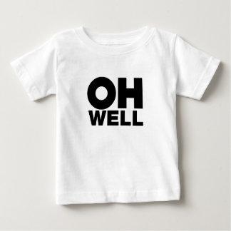Camiseta Para Bebê Oh, texto, palavras da exasperação