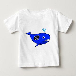 Camiseta Para Bebê Oh Wale oh