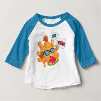 Camiseta Para Bebê Oh! Yeah! é verão