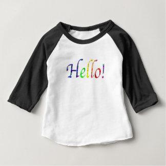 Camiseta Para Bebê olá!!