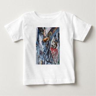 Camiseta Para Bebê Olá!, amigo pequeno