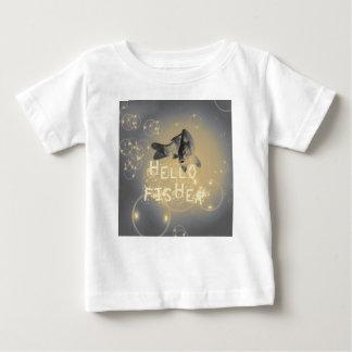 Camiseta Para Bebê Olá! fisher