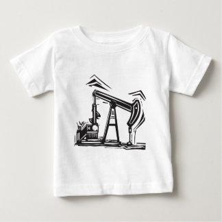 Camiseta Para Bebê Óleo Pumpjack