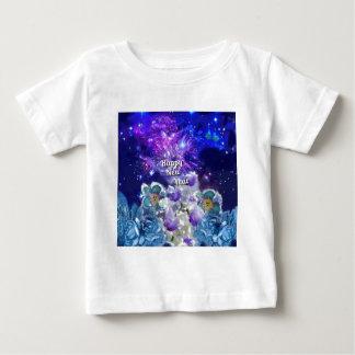 Camiseta Para Bebê Olhe como surpreender será o ano novo