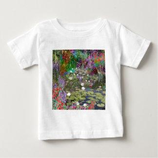 Camiseta Para Bebê Olhe isto e você encontrará a paz