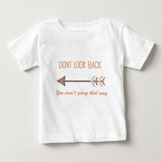 Camiseta Para Bebê olhe para trás