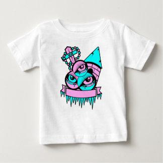 Camiseta Para Bebê olho vampiro fun