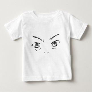 Camiseta Para Bebê Olhos irritados 1