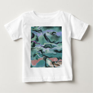 Camiseta Para Bebê Ondas na harmonia