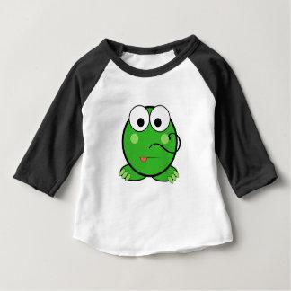 Camiseta Para Bebê OneLittleFrog 3/4 de t-shirt do Raglan