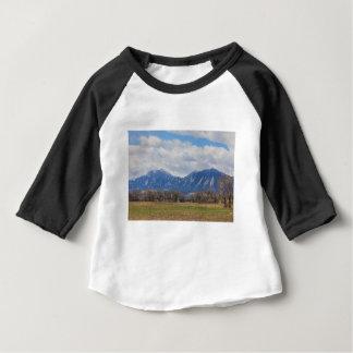 Camiseta Para Bebê Opinião de cão de pradaria de Boulder Colorado