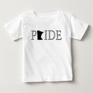 Camiseta Para Bebê Orgulho de Minnesota