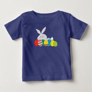 Camiseta Para Bebê Ornamentado colorido dos ovos bonitos dos desenhos