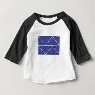 Camiseta Para Bebê Ornamento árabes azuis. Design original