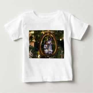 Camiseta Para Bebê Ornamento da natividade