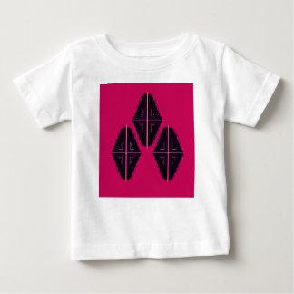 Camiseta Para Bebê Ornamento luxuosos da mandala