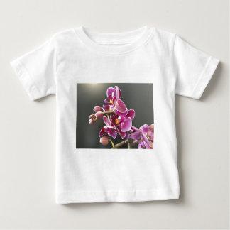 Camiseta Para Bebê orquídea
