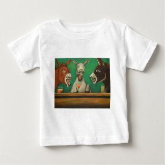 Camiseta Para Bebê Os asnos de riso