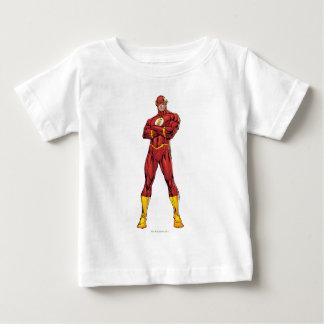 Camiseta Para Bebê Os braços instantâneos cruzados