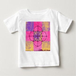 Camiseta Para Bebê Os cinco círculos sagrados