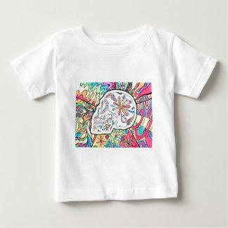 Camiseta Para Bebê Os cinco sentidos