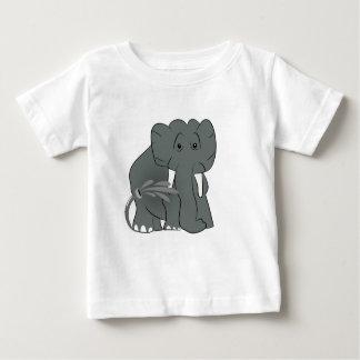 Camiseta Para Bebê Os elefantes são engraçados