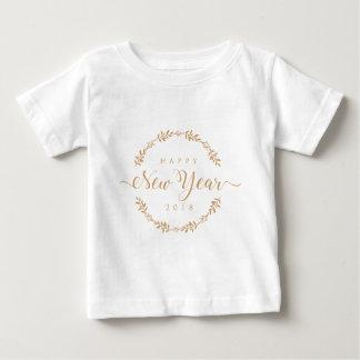 Camiseta Para Bebê os felizes anos novos