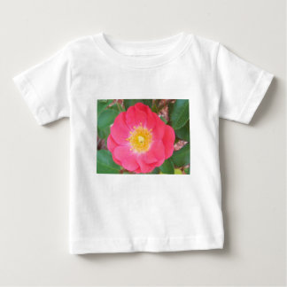 Camiseta Para Bebê Os salmões da velha escola coloriram cor-de-rosa