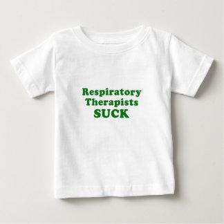 Camiseta Para Bebê Os terapeutas respiratórios sugam