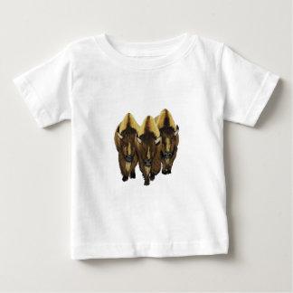 Camiseta Para Bebê Os três amigo